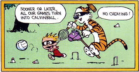 calvinball cartoon