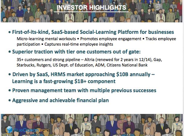 investor highlights