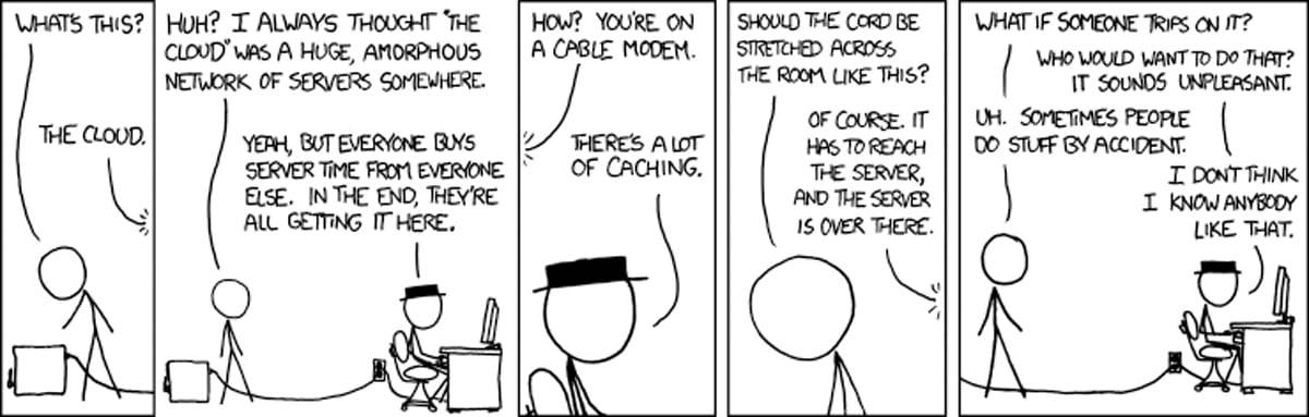xkcd - The Cloud